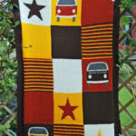 VW Bay Campervan Blanket
