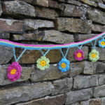 crochet flower garland 001