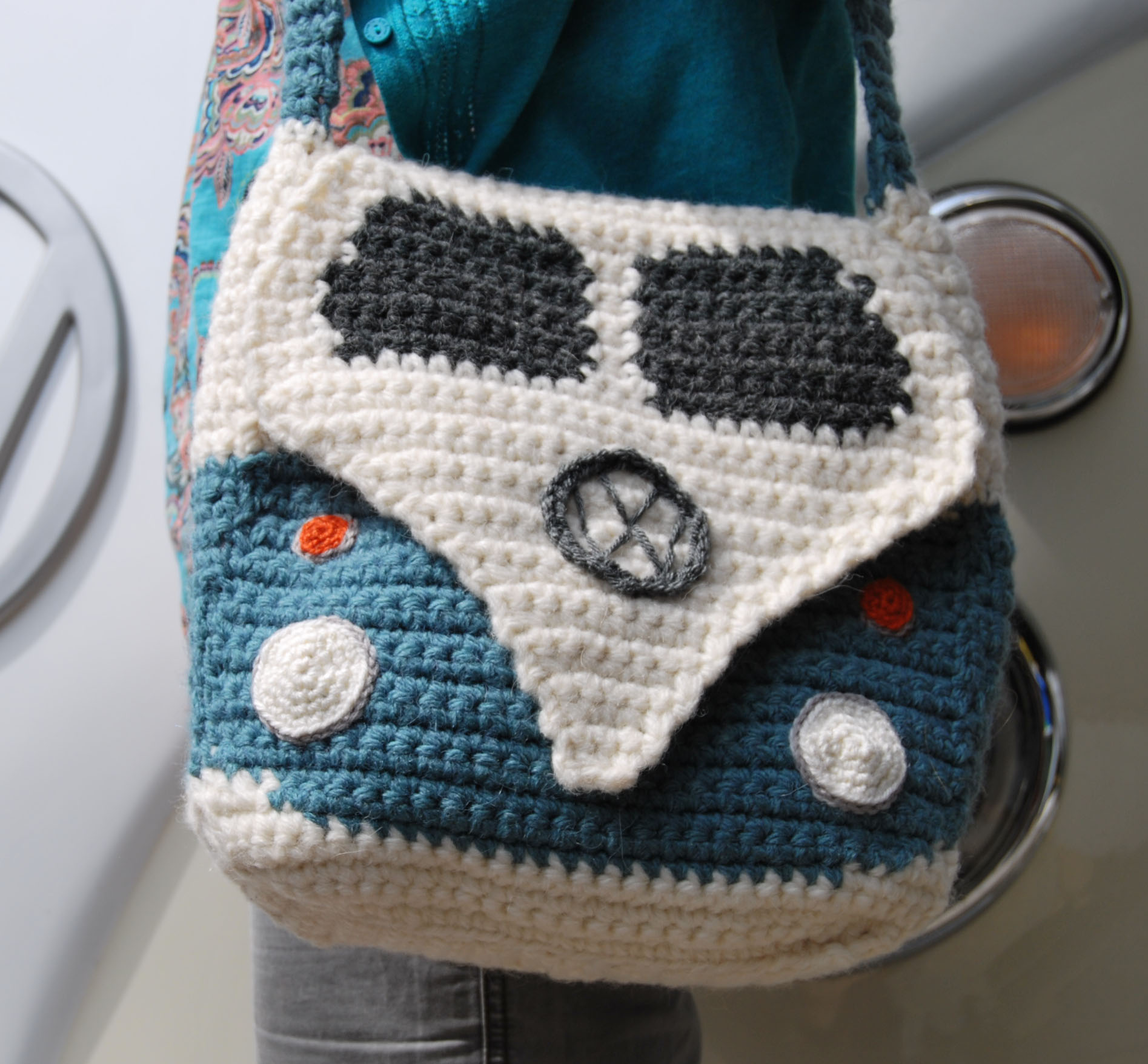 Campervan Shoulder Bag