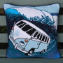 Surf Van Tapestry Cushion Cover