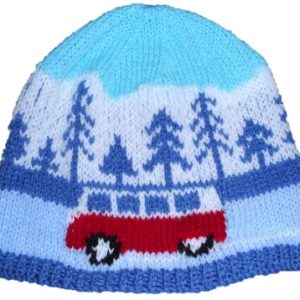 The perfect gift for a Campervan fan the Christmas! Knit up a Winter Scene Beanie with our downloadable Knitting pattern which comes with 4 different vehicle designs too - a Splitty, a Bay, a Beetle and a T25 Knit yourself a Winter Beanie with our Campervan or Beetle/Bug 4 Seasons pattern!