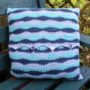 Campervan Travels Day at the Beach Cushion Back