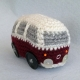 Chubby Dub Crochet Pattern for a Diddy Campervan
