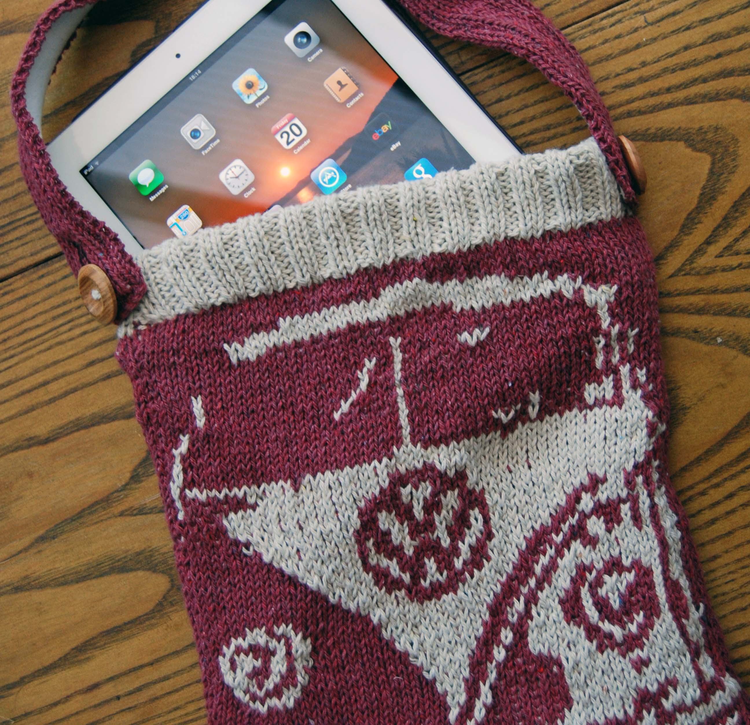 Splitty Bag with ipad - square image