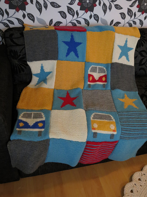 Eva's Splitty and Bay Blanket