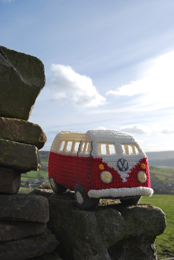 Pull up in your campervan and admire the view