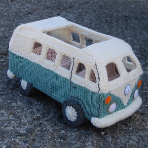 Knitted Campervan