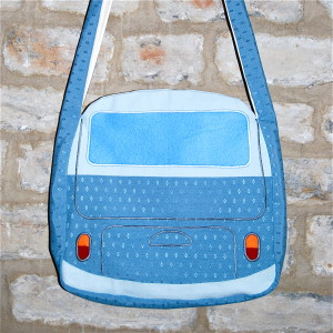 Make your own campervan bag - rear view