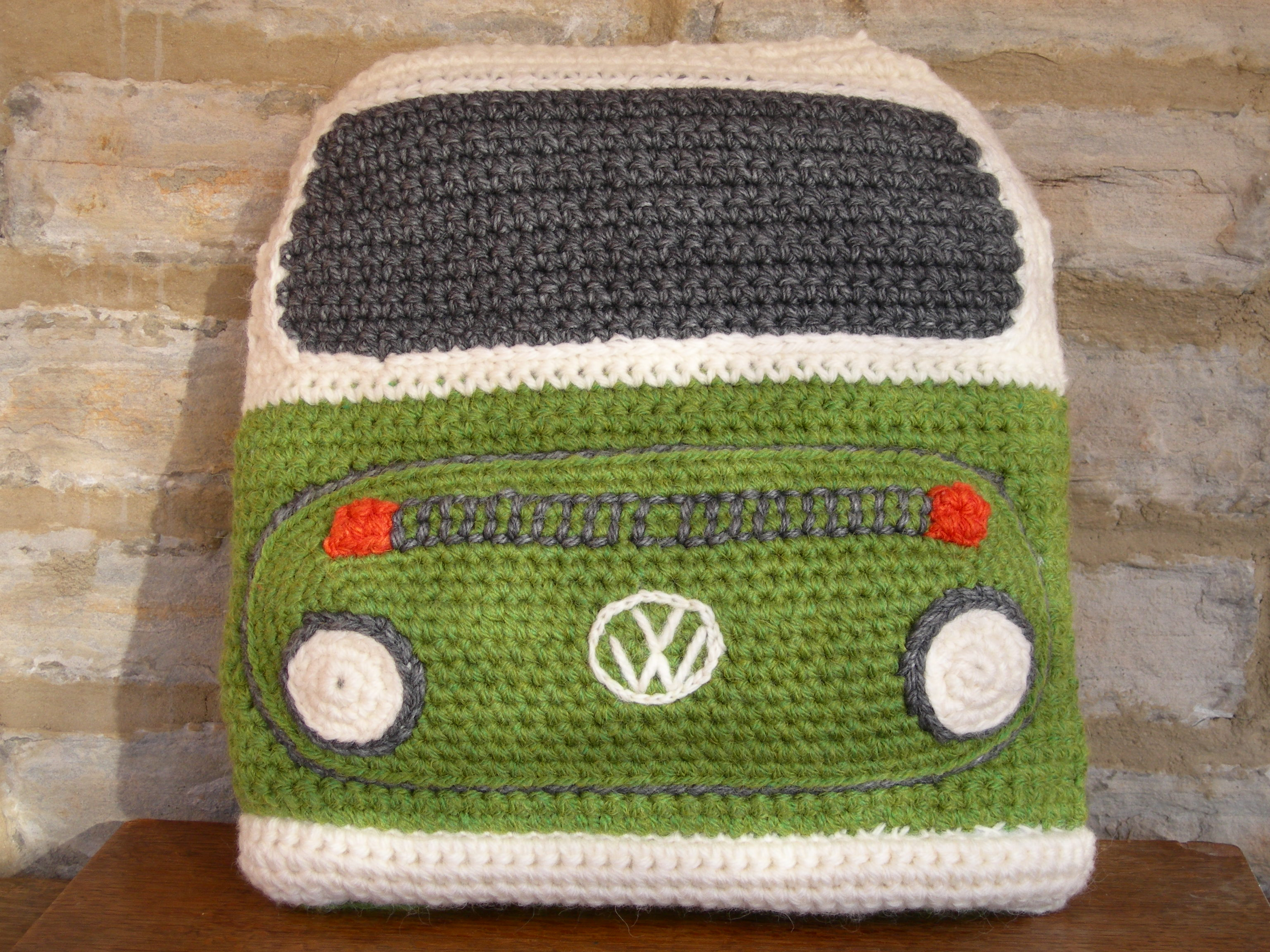 PDF Crochet Pattern for a Bay C&ervan Cushion Cover & PDF Crochet Pattern for a Bay Campervan Cushion Cover - Slightly ... pillowsntoast.com