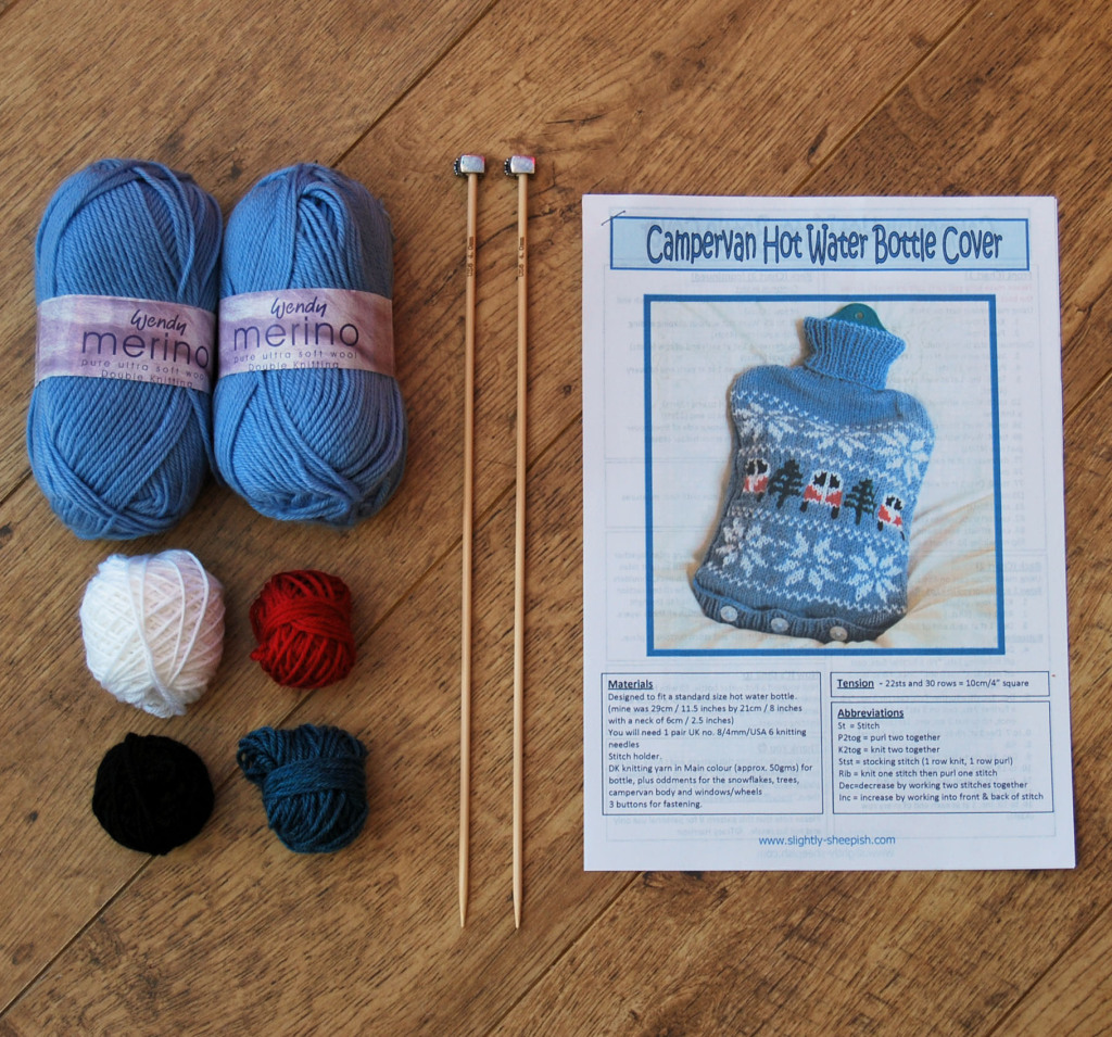 Campervan Hot Water Bottle Kit