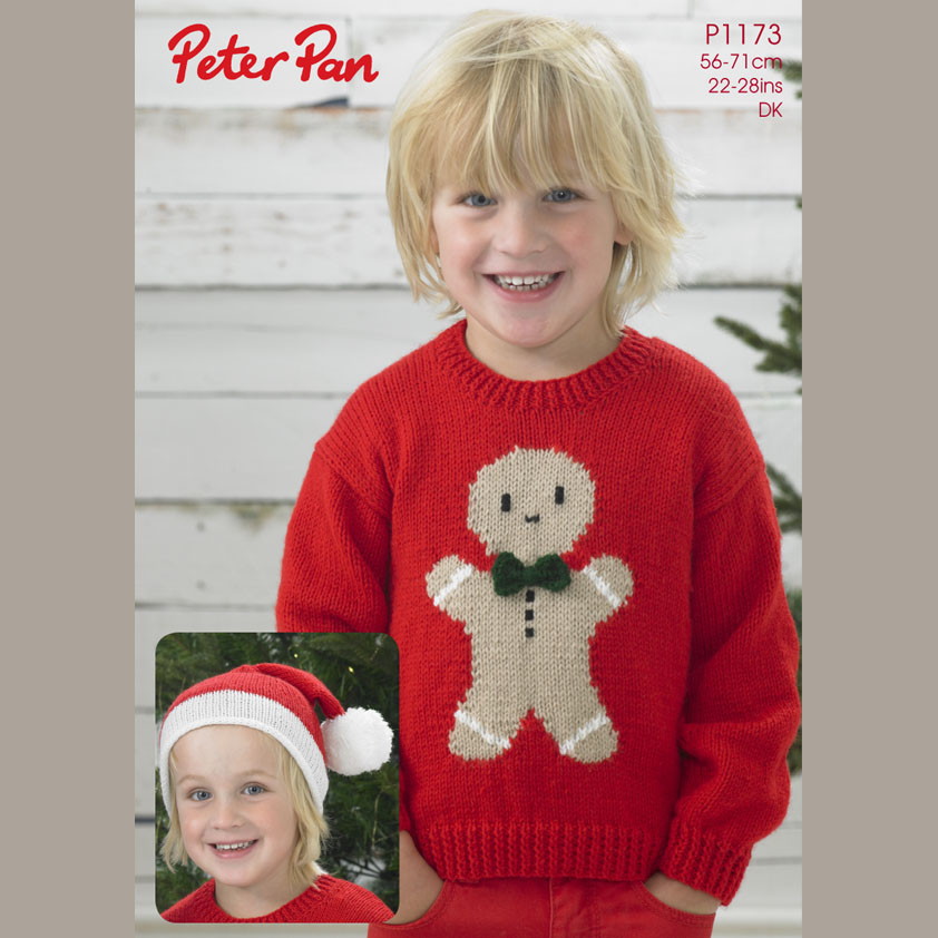 Wendy 1173 Ginger Bread Man Sweater And Hat Digital Download
