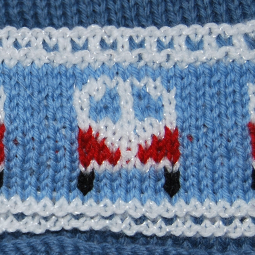 Pdf Knitting Pattern For A Beanie Bobble Hat With Campervan