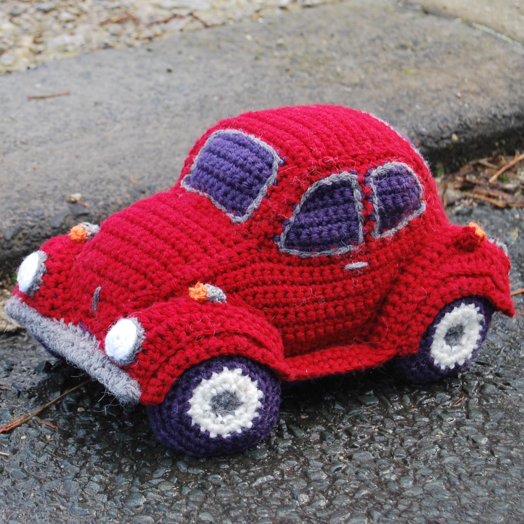 Pdf Crochet Pattern For Hug A Bug Cuddly Car