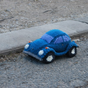 beetle car knitting pattern