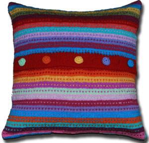 Pop-Art-Campervan-Cushion-Back