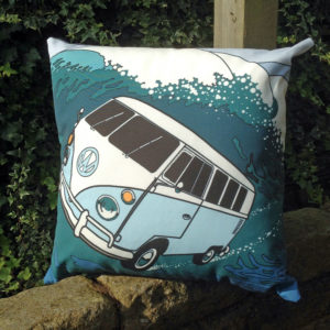 splitty campervan cushion