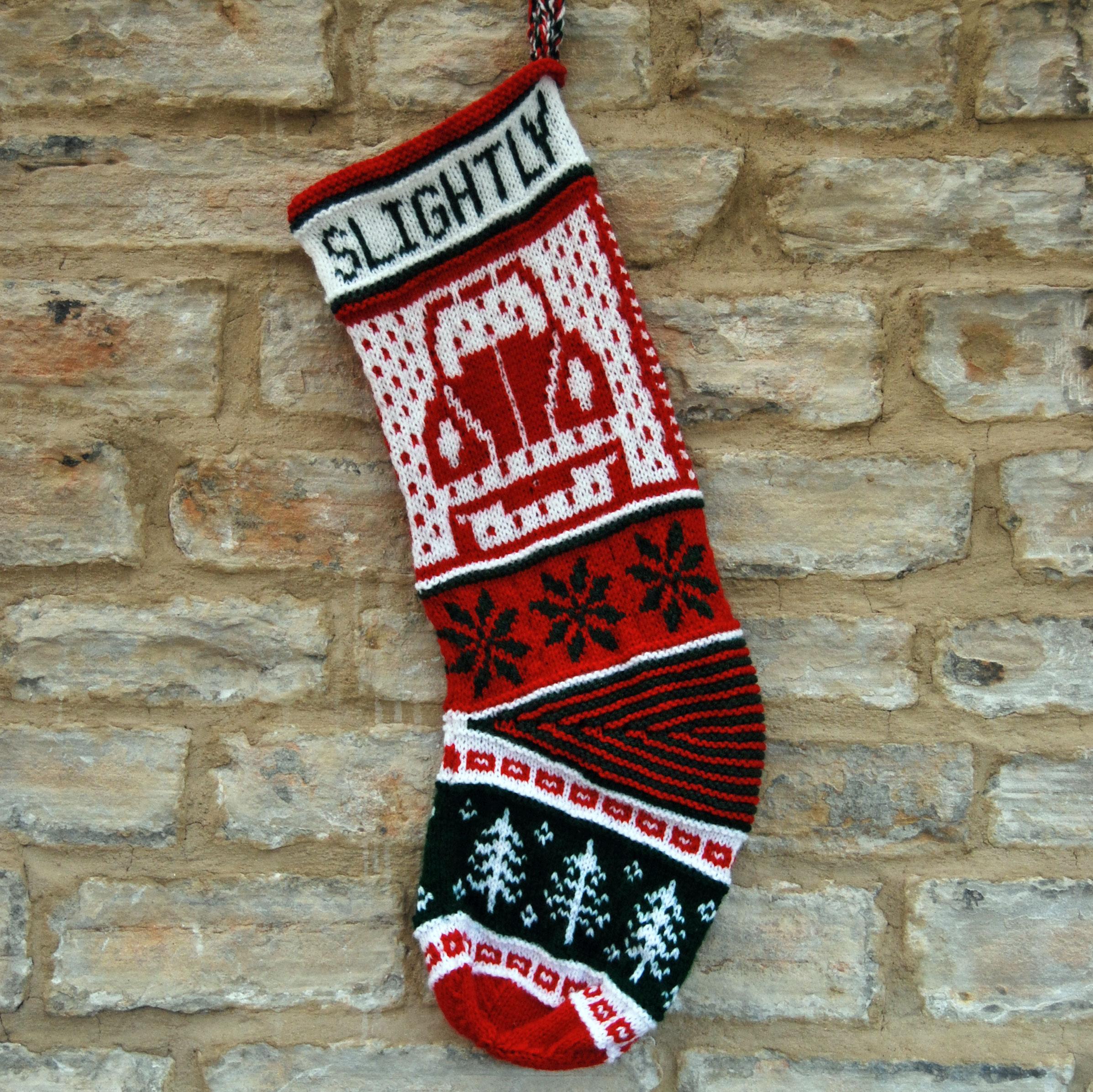 PDF Knitting Pattern - Campervan or Beetle Christmas Stocking ...
